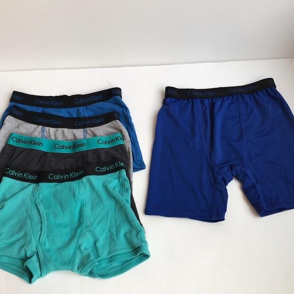 42aba96e3fbb Calvin Klein Other - 5 prs boys Calvin Klein underwear lot size S 6 7